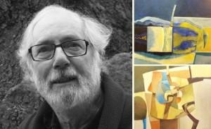 Billedkunstneren Chris White bor og arbeider i Gamlebyen.