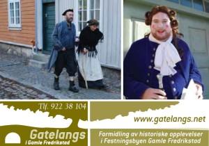 Gatelangs i Gamle Fredrikstad