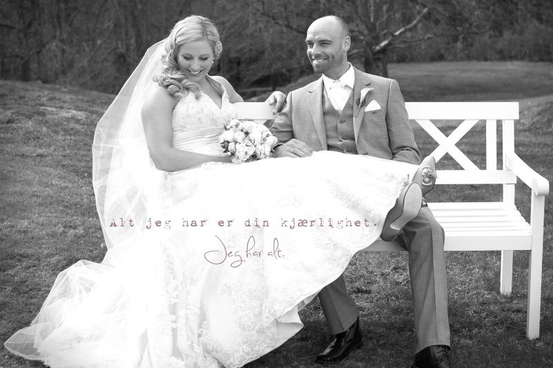Bryllupsbilde
